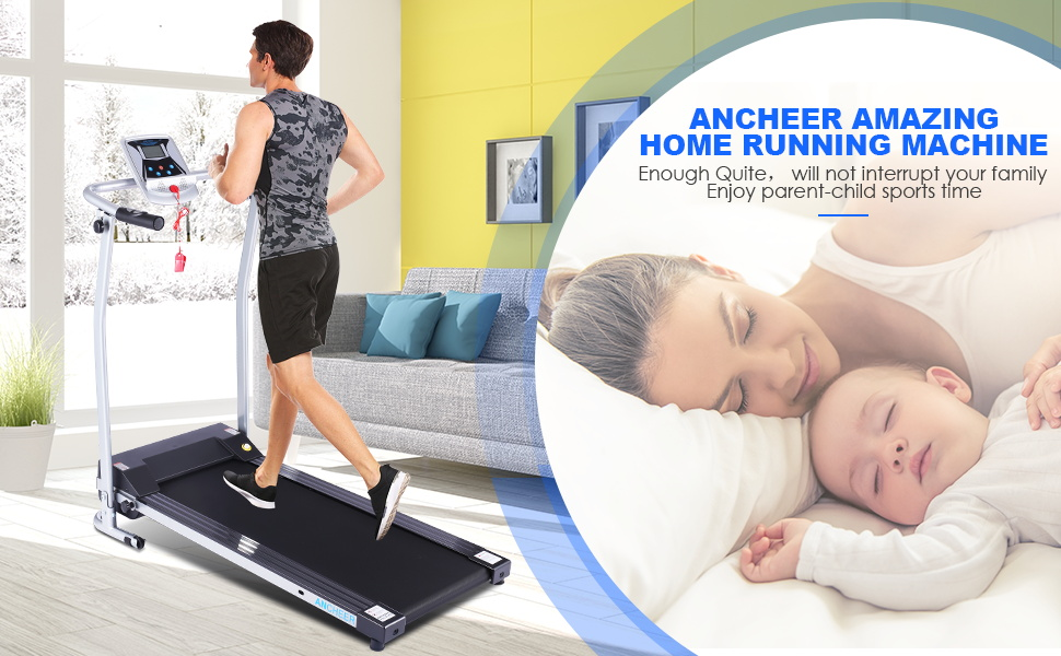 ANCHEER Treadmill, Electric Treadmills for Home